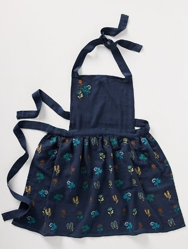 Anthropologie Embroidered apron -자수앞치마